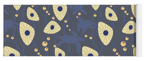 Swimming Turtles Blue Yoga Mat