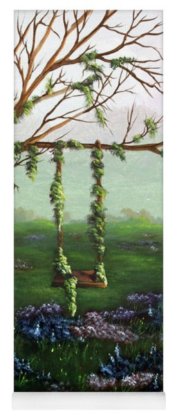 Swingin' With The Flowers Yoga Mat