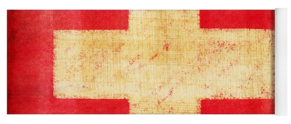 Switzerland Flag Yoga Mat