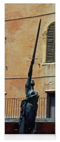 Sword Of Freedom Yoga Mat