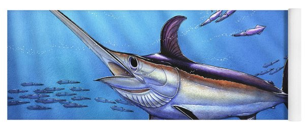 Swordfish In Freedom Yoga Mat