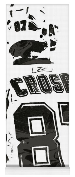 Sydney Crosby Pittsburgh Penguins Pixel Art 2 Yoga Mat