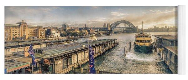 Sydney Harbor I Yoga Mat