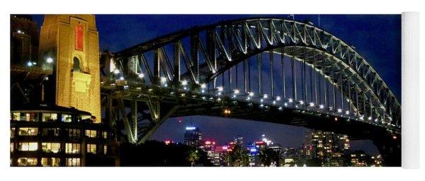 Sydney Harbour Bridge Yoga Mat