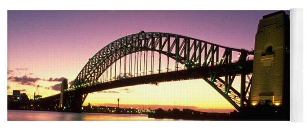 Yoga Mat featuring the photograph Sydney Harbour Bridge by Travel Pics