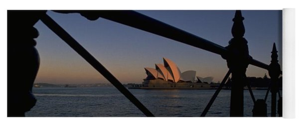 Yoga Mat featuring the photograph Sydney Opera House by Travel Pics