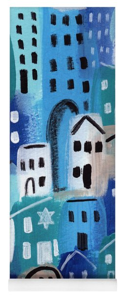 Synagogue- City Stories Yoga Mat