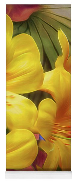 Synergistic Blooms 6 Yoga Mat