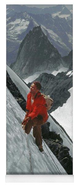 T-202707 Eric Bjornstad On Howser Peak Yoga Mat