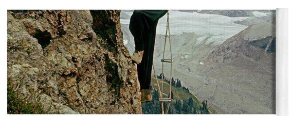 T-902901 Fred Beckey Climbing Yoga Mat