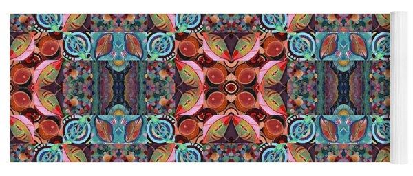 T J O D Mandala Series Puzzle 7 Arrangement 1 Multiplied Yoga Mat