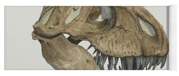 T. Rex Skull 2 Yoga Mat