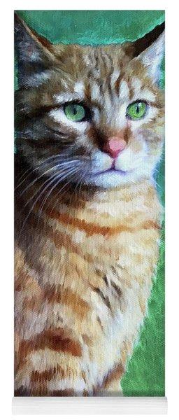Tabby Cat Yoga Mat