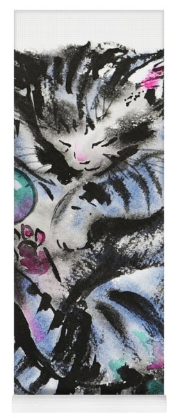 Tabby Dreams Yoga Mat