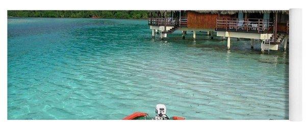 Tahitian Boat Yoga Mat