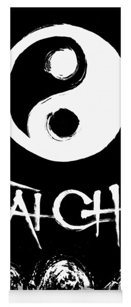 Tai Chi Black Yoga Mat