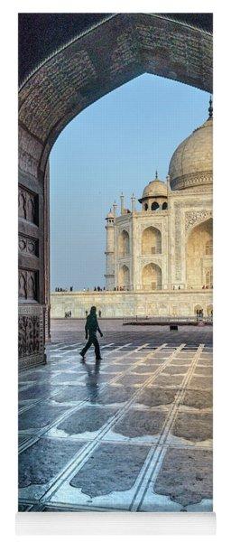 Taj Mahal 01 Yoga Mat