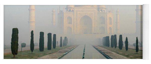 Taj Mahal At Sunrise 02 Yoga Mat