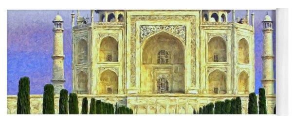 Taj Mahal Morning Yoga Mat