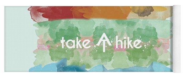 Take A Hike Appalachian Trail Yoga Mat