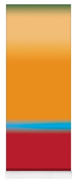 Tall Abstract Color Yoga Mat