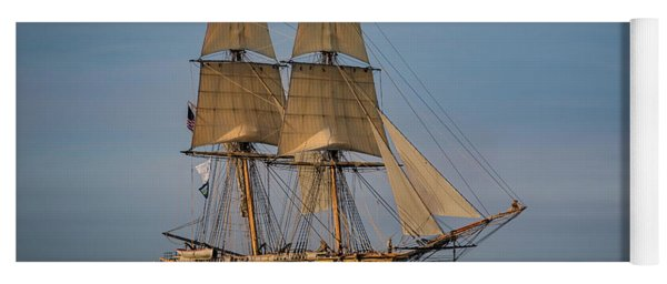 Tall Ship U.s. Brig Niagara Yoga Mat