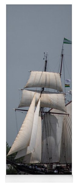 Tall Ships To Nola Yoga Mat
