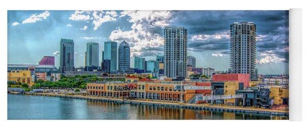 Tampa Florida Skyline Yoga Mat