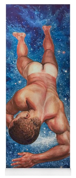 Tan Lines In Space Yoga Mat