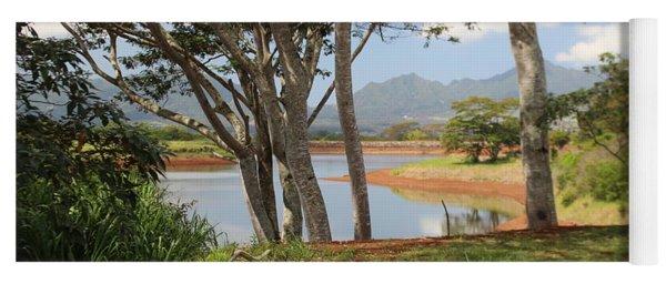 Tanada Reservoir Oahu Yoga Mat