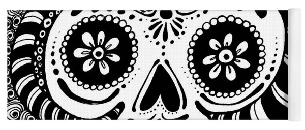 Tangled Skull Yoga Mat