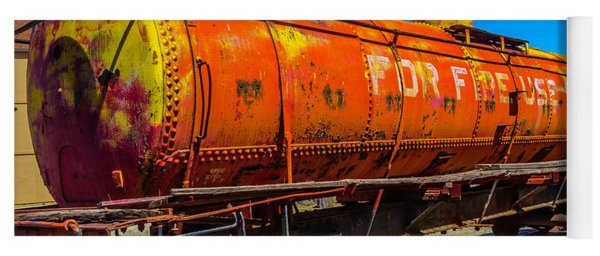 Tanker For Fire Use Only Yoga Mat