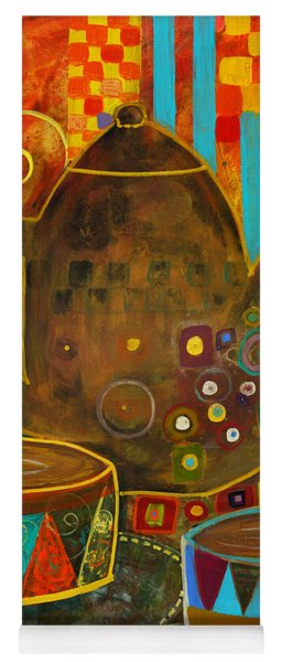 Tea Party With Klimt Yoga Mat