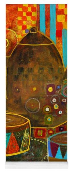 Tea Party With Klimt Yoga Mat