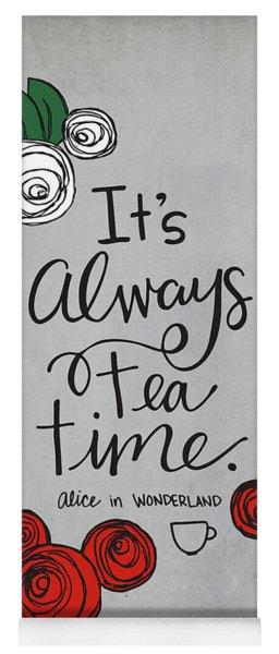 Tea Time Yoga Mat