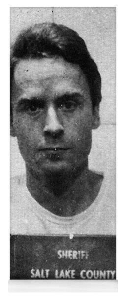 Ted Bundy Mug Shot 1975 Vertical  Yoga Mat