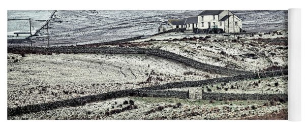 Teesdale In Winter Yoga Mat