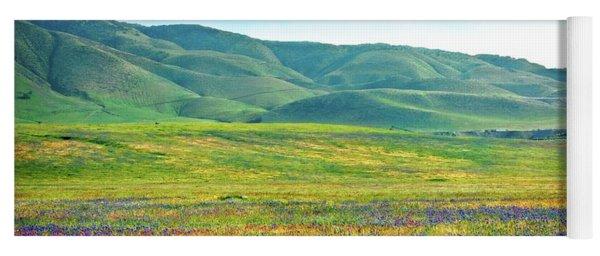 Tejon Ranch Wildflowers Yoga Mat