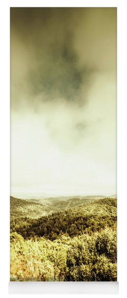 Temperate Country Forests Yoga Mat