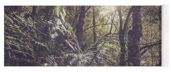 Temperate Rainforest Canopy Yoga Mat