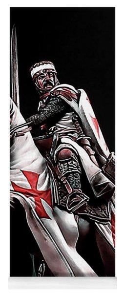Templar Knight, Red Cross - 02 Yoga Mat
