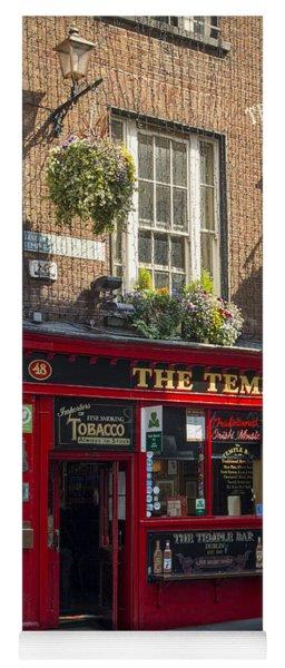 Temple Bar - Dublin Ireland Yoga Mat