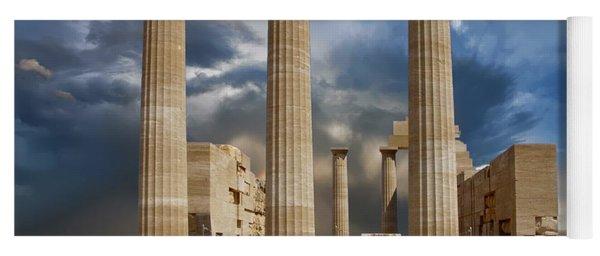 Temple Of Athena Yoga Mat