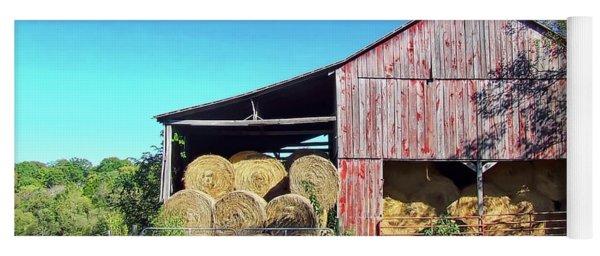 Tennessee Hay Barn Yoga Mat