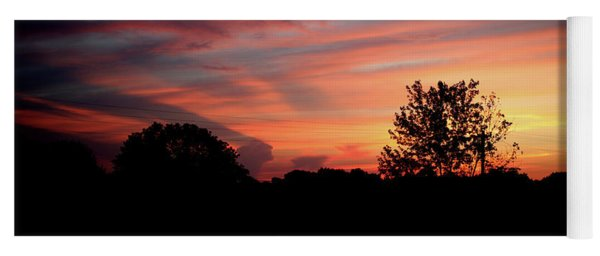 Yoga Mat featuring the photograph Tennessee Sunset 305 by Ericamaxine Price