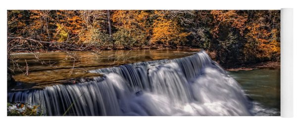 Tennessee Waterfall Yoga Mat