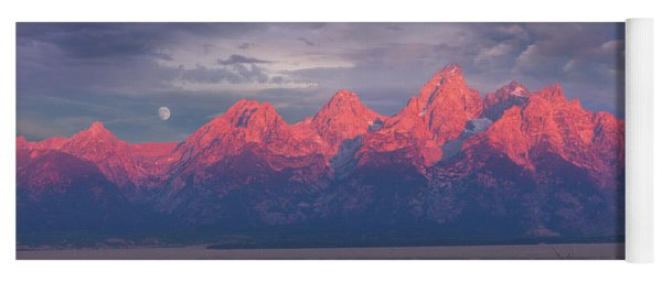 Teton Moonset Yoga Mat
