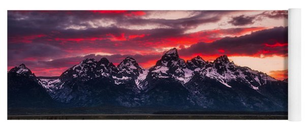 Teton Sunset Yoga Mat
