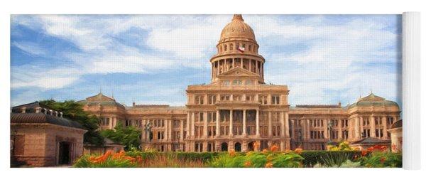 Texas Impressions Texas State Capitol II Yoga Mat