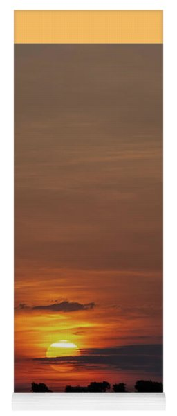Texas Sunrise Yoga Mat